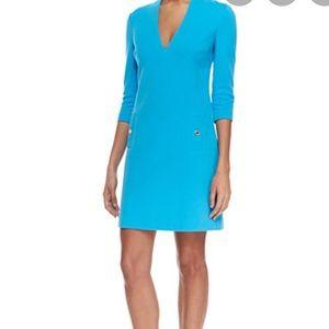 NWT Lilly Pulitzer charlena shift dress Ariel blue